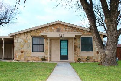 San Angelo TX Single Family Home For Sale: $79,900