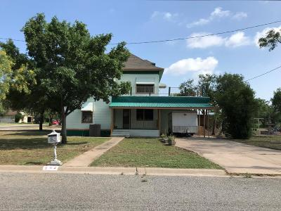 San Angelo TX Single Family Home For Sale: $150,000