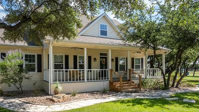 Christoval Single Family Home For Sale: 5742 John Curry Rd