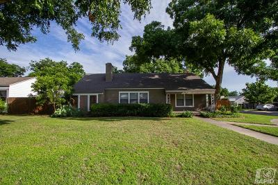 San Angelo Single Family Home For Sale: 2202 Live Oak St
