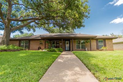 San Angelo Single Family Home For Sale: 3010 Briargrove Lane
