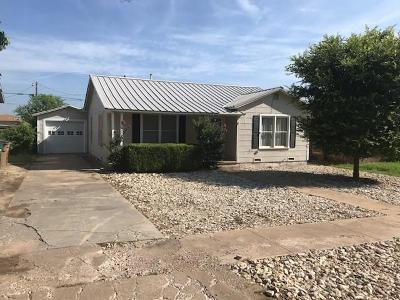 San Angelo Single Family Home For Sale: 2116 Webster St