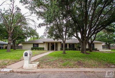 San Angelo Single Family Home For Sale: 2733 Alta Vista Lane