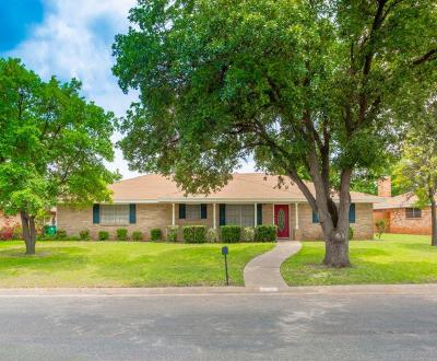 San Angelo Single Family Home For Sale: 3317 Rockbrook Dr