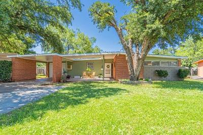 San Angelo Single Family Home For Sale: 2726 Rice Ave