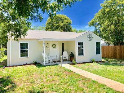 San Angelo Single Family Home For Sale: 312 N Washington Dr