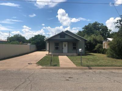 San Angelo Single Family Home For Sale: 12 E 28th St