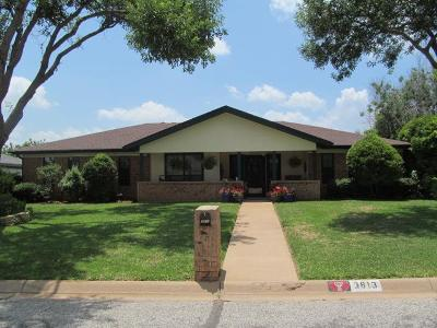 San Angelo Single Family Home For Sale: 3813 Parkwood Dr