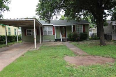 San Angelo Single Family Home For Sale: 522 E 25th St