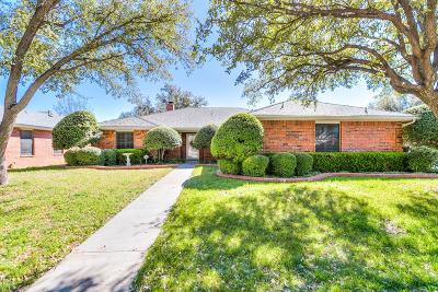 San Angelo Single Family Home For Sale: 5516 Fairway Dr