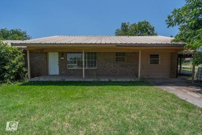 Robert Lee Single Family Home For Sale: 809 W 11th St