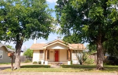 San Angelo Single Family Home For Sale: 1522 David St