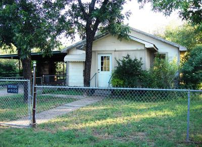 San Angelo Single Family Home For Sale: 8521 Burrell Rd