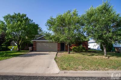 San Angelo Single Family Home For Sale: 2509 McGill Blvd