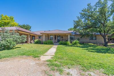 San Angelo Single Family Home For Sale: 11878 Juniper Lane
