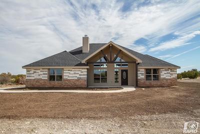 Christoval Single Family Home For Sale: 16770 Caballo Blanco Lane