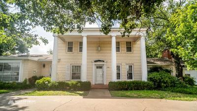 San Angelo Single Family Home For Sale: 3111 W Beauregard Ave
