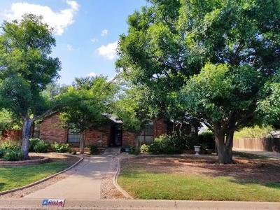 San Angelo Single Family Home For Sale: 6014 Stratford Ave