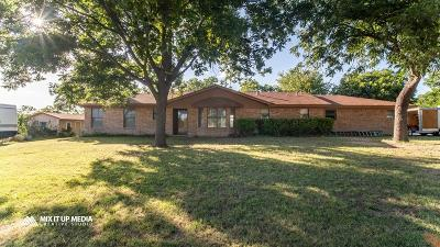 San Angelo Single Family Home For Sale: 11337 E Dove Creek East Lane