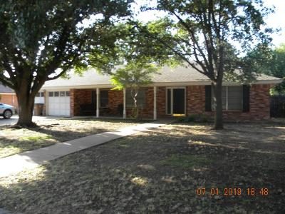 San Angelo Single Family Home For Sale: 3002 Chatterton Dr