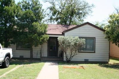 San Angelo Single Family Home For Sale: 410 S Parkway St