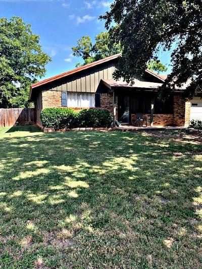 San Angelo Single Family Home For Sale: 265 N Oxford Ave