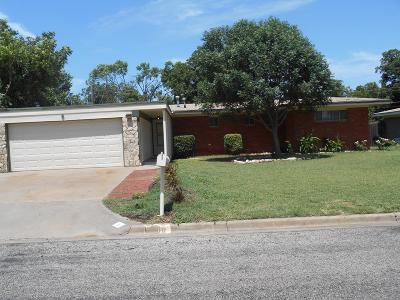 San Angelo Single Family Home For Sale: 6 Clare Dr