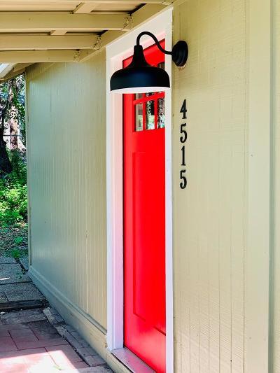 Christoval Single Family Home For Sale: 4515 McKee Lane