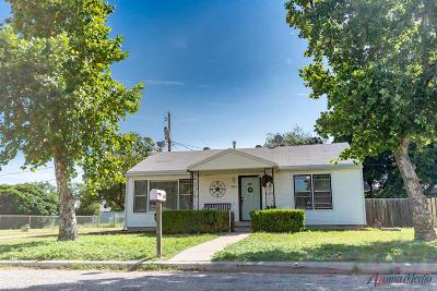 San Angelo Single Family Home For Sale: 306 N Garrett St