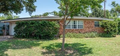 San Angelo TX Single Family Home For Sale: $122,000