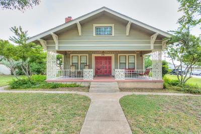 San Angelo Single Family Home For Sale: 402 N Washington Dr