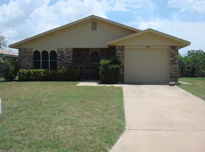 San Angelo TX Single Family Home For Sale: $144,000
