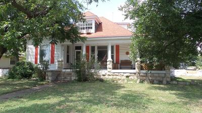 Ballinger Single Family Home For Sale: 700 N Broadway St