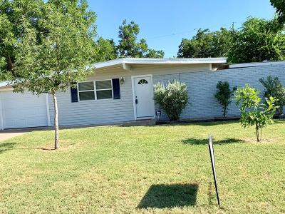 San Angelo TX Single Family Home For Sale: $135,000