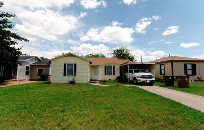 San Angelo Single Family Home For Sale: 2625 Guadalupe St