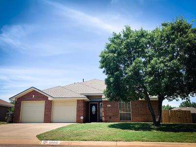 San Angelo Single Family Home For Sale: 5806 Normandy Lane