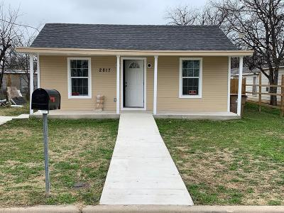 San Angelo Single Family Home For Sale: 2817 N Irving St