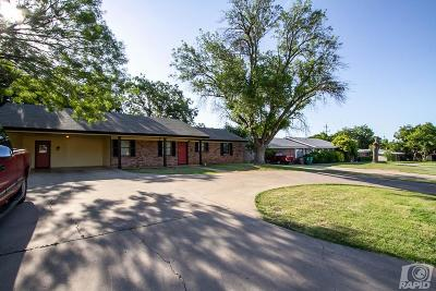 San Angelo Single Family Home For Sale: 1950 College Hills Blvd