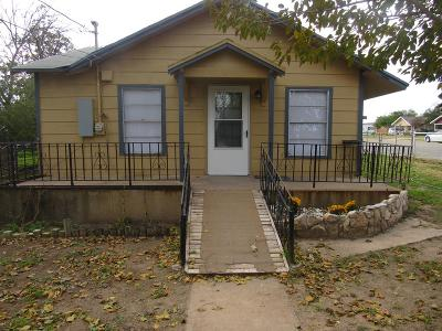 San Angelo TX Single Family Home For Sale: $85,000