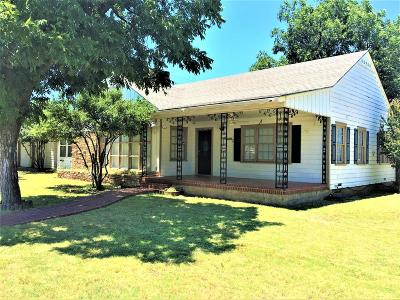 San Angelo Single Family Home For Sale: 1602 Rio Grande St