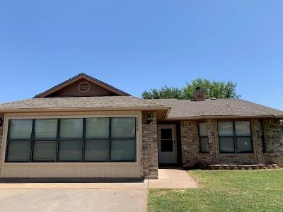 San Angelo TX Single Family Home For Sale: $149,500