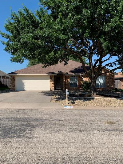 San Angelo TX Single Family Home For Sale: $201,900