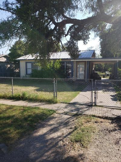 San Angelo TX Single Family Home For Sale: $39,900