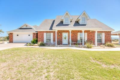 Christoval Single Family Home For Sale: 6702 Allen Rd