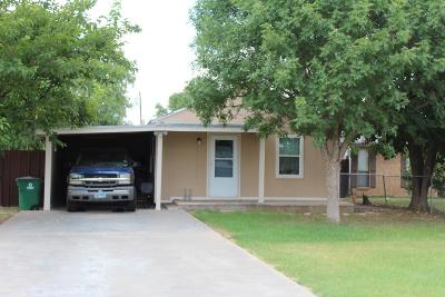 San Angelo Single Family Home For Sale: 1418 Roosevelt St