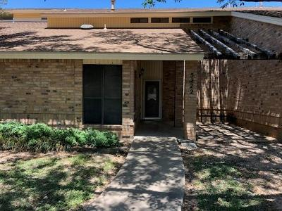 San Angelo Condo/Townhouse For Sale: 5222 Fairway Dr