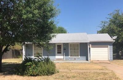 Ballinger Single Family Home For Sale: 204 East Ave