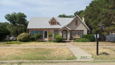Ballinger Single Family Home For Sale: 907 N 7th St