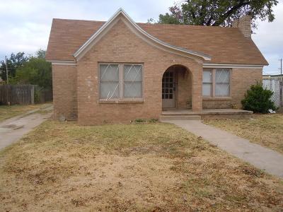 San Angelo Single Family Home For Sale: 411 N Park St
