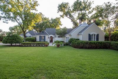 San Angelo Single Family Home For Sale: 1621 Christoval Rd